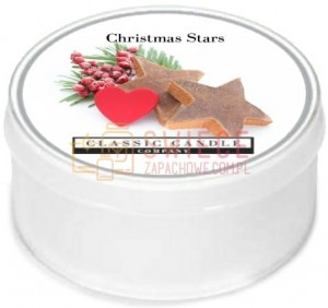 Classic Candle CHRISTMAS STARS MiniLight