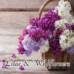 Milkhouse Candles LILAC & WILDFLOWERS Wosk