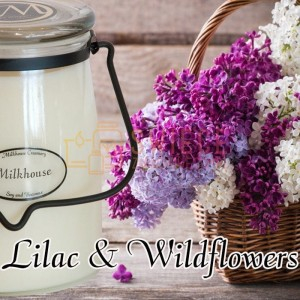 Milkhouse Candles LILAC & WILDFLOWERS Świeca Duża