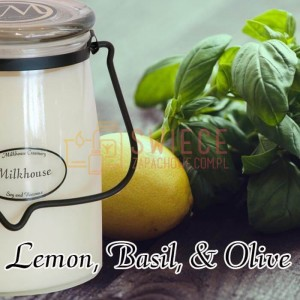Milkhouse Candles LEMON BASIL & OLIVE Świeca Duża