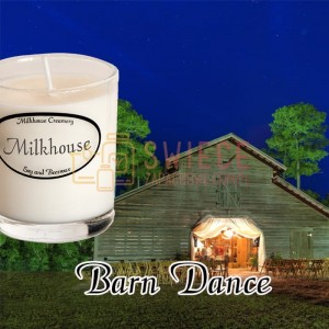 Milkhouse Candles BARN DANCE Shot