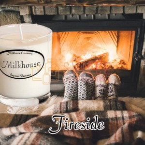 Milkhouse Candles FIRESIDE Shot