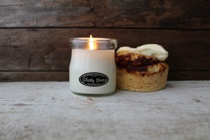 Milkhouse Candles STICKY BUNS Cream Jar
