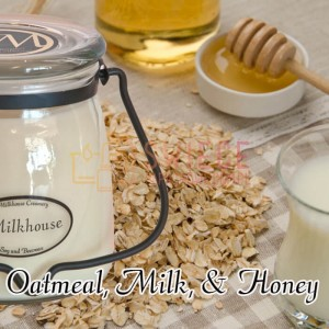 Milkhouse Candles OATMEAL, MILK & HONEY Świeca Średnia
