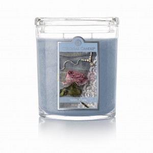 Colonial Candle Large Jar DENIM & LACE