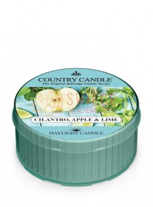 Country Candle CILANTRO, APPLE & LIME DayLights