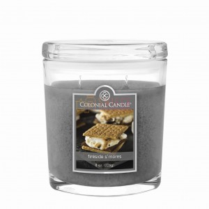 Colonial Candle Medium Jar FIRESIDE S'MORES