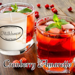 Milkhouse Candles CRANBERRY AMARETTO Shot