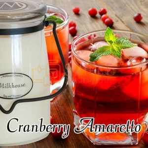 Milkhouse Candles CRANBERRY AMARETTO Świeca Duża