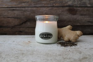 Milkhouse Candles WHITE TEA & GINGER Cream Jar