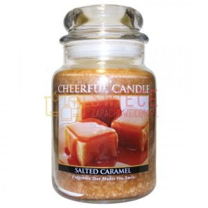 Cheerful Candle Salted Caramel Świeca Duża