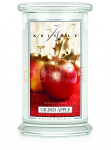 Kringle Candle Gilded Apple 2 Wick Classic