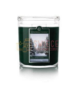 Colonial Candle Large Jar WINTER WOODS