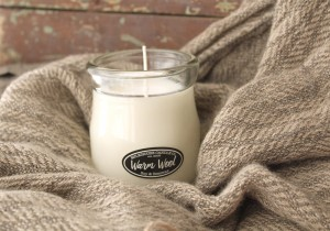 Milkhouse Candles WARM WOOL Cream Jar