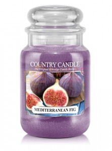 Country Candle MEDITERRANEAN FIG Świeca Duża