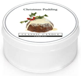 Classic Candle CHRISTMAS PUDDING MiniLight