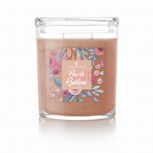 Colonial Candle Large Jar PEACH BELLINI