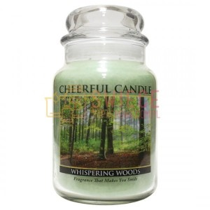 Cheerful Candle WHISPERING WOODS Świeca Duża