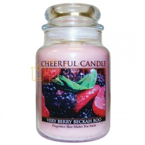 Cheerful Candle Very Berry Beckah Boo Słoik Duży