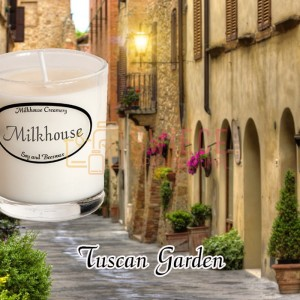 Milkhouse Candles TUSCAN GARDEN Shot