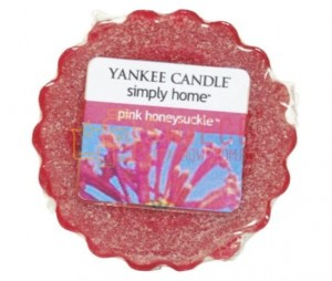 Yankee Candle Pink Honeysuckle Wosk