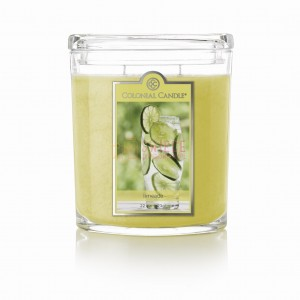 Colonial Candle Large Jar LIMEADE