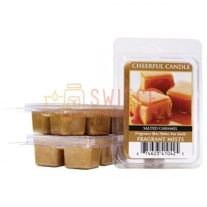 Cheerful Candle Salted Caramel Wosk