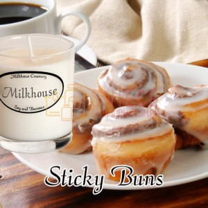 Milkhouse Candles STICKY BUNS Shot
