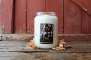 Milkhouse Candles CEDAR SHAVINGS Świeca Duża