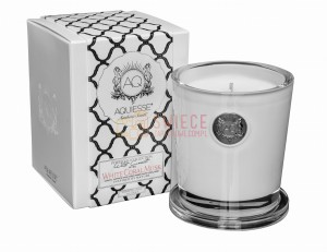 WHITE CORAL MUSK ~ Large Soy Candle/Gift Box