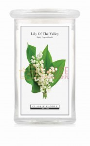 Classic Candle LILY OF THE VALLEY 2 Wick Large Jar