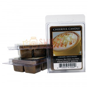 Cheerful Candle Caramel Macchiato Wosk