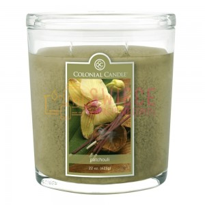 Colonial Candle Large Jar PATCHOULI