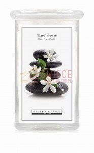 Classic Candle TIARE FLOWER 2 Wick Large Jar