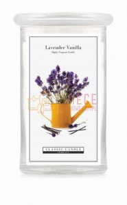 Classic Candle LAVENDER VANILLA 2 Wick Large Jar