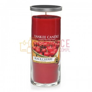 Yankee Candle Black Cherry Pilar Duży