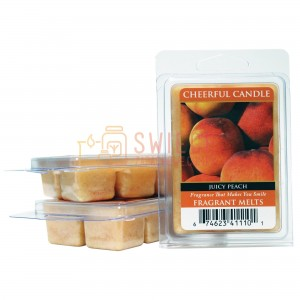 Cheerful Candle Juicy Peach Wosk