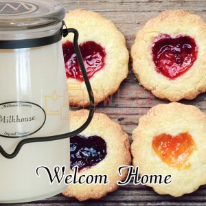 Milkhouse Candles WELCOME HOME Świeca Duża