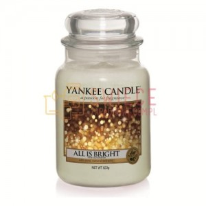 Yankee Candle All is Bright Słoik Duży