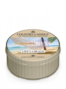 Country Candle LIFE S A BEACH DayLights