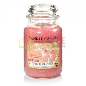 Yankee Candle Cherry Lemonade Słoik Duży
