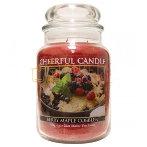 Cheerful Candle BERRY MAPLE COBBLER Świeca Duża