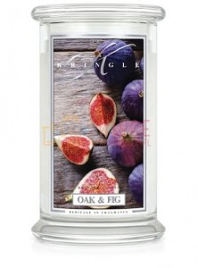 Kringle Candle Oak & Fig 2 Wick Classic