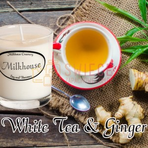 Milkhouse Candles WHITE TEA & GINGER Shot