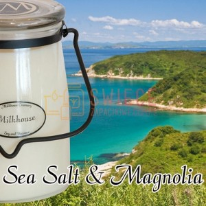 Milkhouse Candles SEA SALT & MAGNOLIA Świeca Duża