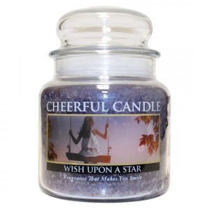 Cheerful Candle WISH UPON A STAR Świeca Średnia