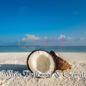Milkhouse Candles WHITE DRIFTWOOD & COCONUT Wosk