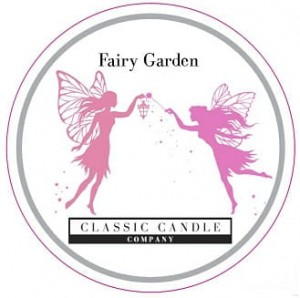 Classic Candle FAIRY GARDEN MiniLight