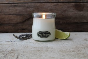 Milkhouse Candles CITRUS & LAVENDER Cream Jar