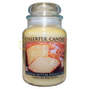 OUTLET Cheerful Candle ALMOND BUTTER POUND CAKE Świeca Duża